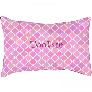 Pink Pattern Dogbed