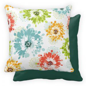 poppy-flower-pillow-blue-green