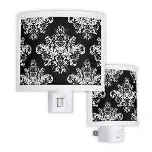 Black & White Elegant Night Light
