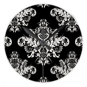 Black & White Elegant Wall Clock