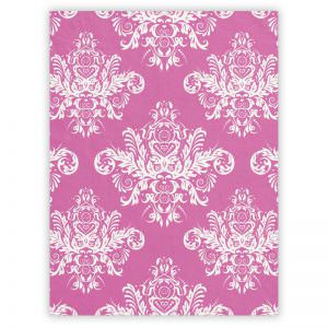 Elegant Pink Small Fleece Blanket
